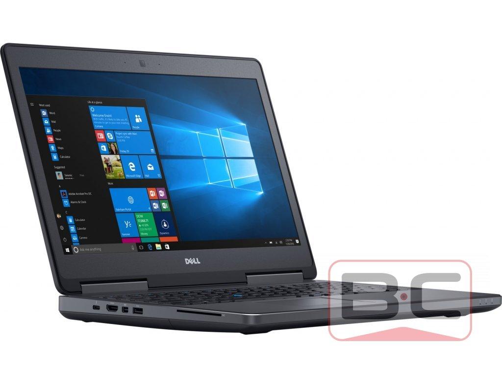 Profesionální notebook Dell Precision 7520, černá BazarCom.cz