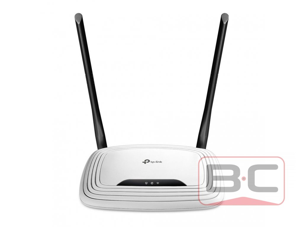 TP-Link TL-WR841N Bezdrátový router, WiFi 802.11b/g/n, rychlost až 300 Mbit/s, bazarcom.cz