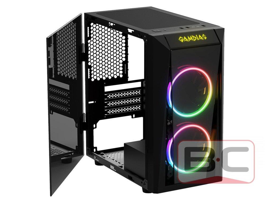 Herní PC GamerOne, Intel Core i5-9400, 8GB RAM, R9 390 8GB, 500GB SSD, 2TB HDD