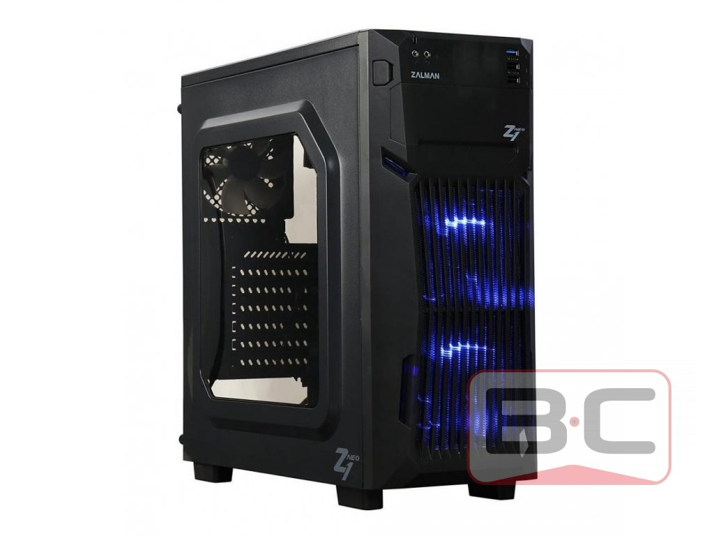 Stolní PC, Intel Core i3-3240, 8GB RAM, 480GB SSD, 500GB HDD, NVIDIA 210 1GB