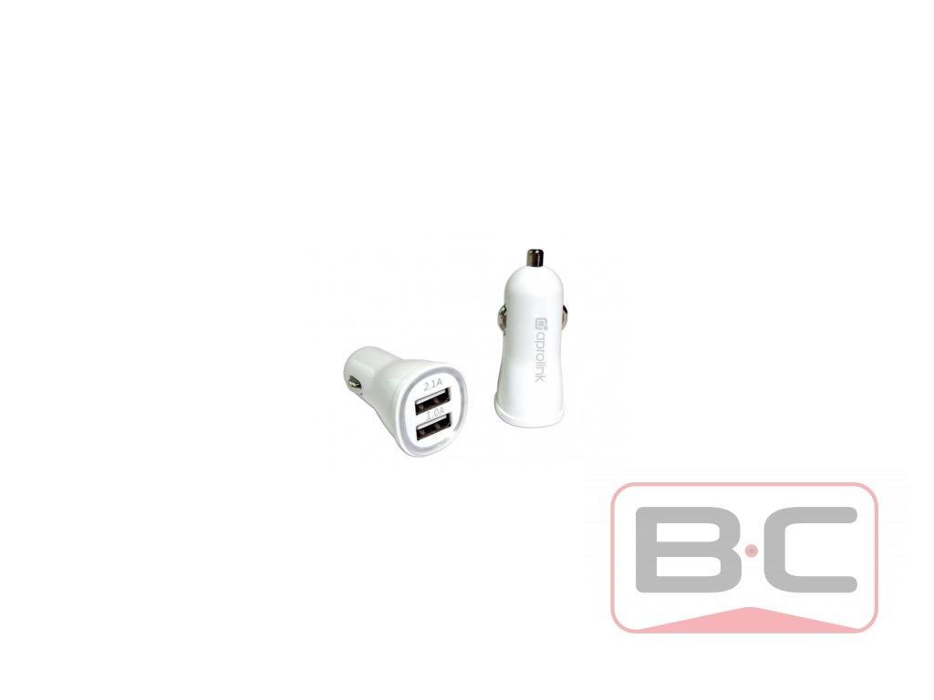 Autonabíječka 2x USB, 2.1A - 1.0A Bazarcom.cz