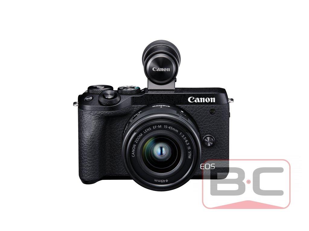 Canon EOS M6 Mark II + 15-45 mm + hledáček EVF BazarCom