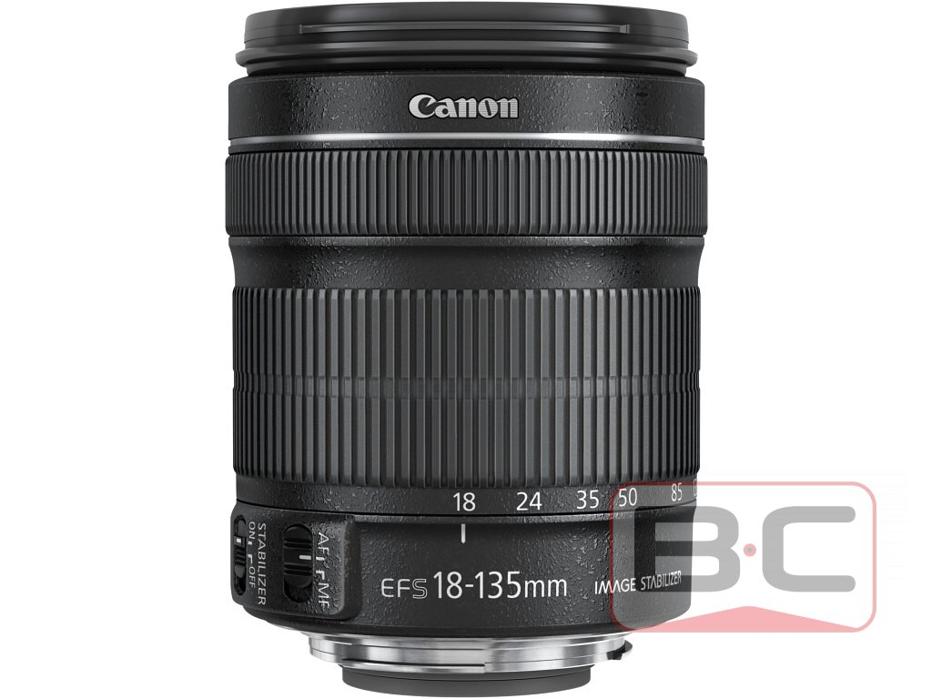 Objektiv Canon EF-S 18-135mm F/3.5-5.6 IS Lens Macro 0.45m/1.5ft