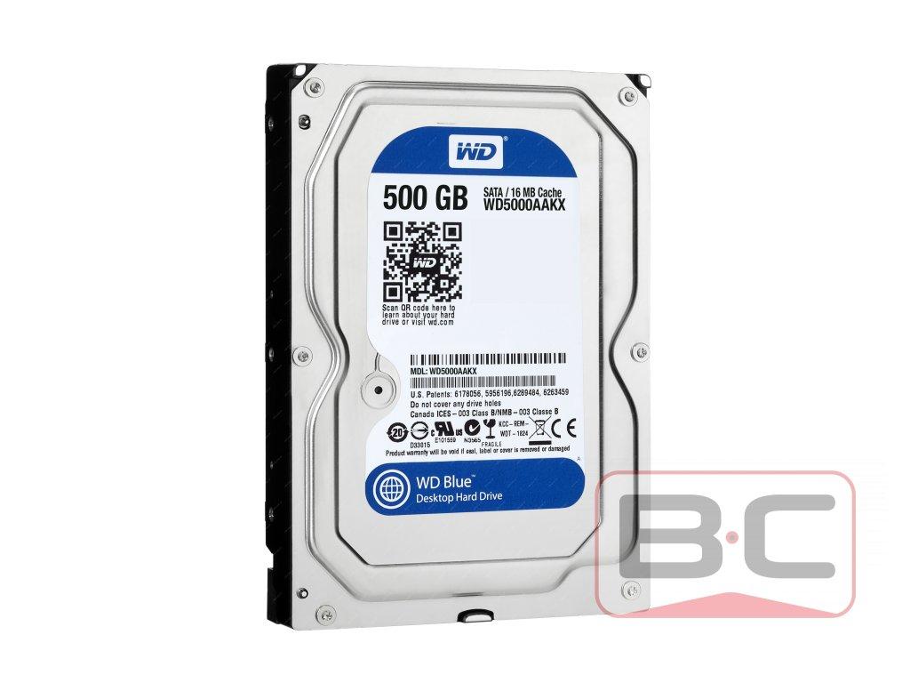 """HDD 3.5"""" WD Blue 500GB Bazarcom.cz"""