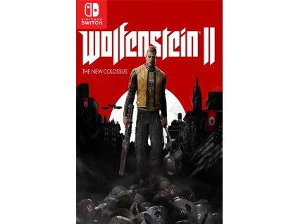 Nintendo Switch Wolfenstein II Bazarcom.cz
