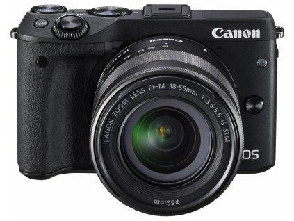 Fotoaparát Canon EOS M3 - 18-55mm f/3.5-5.6 III