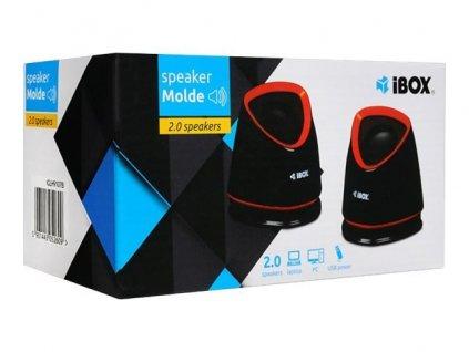 IBOX Reproduktory Molde USB Power bílá BazarCom.cz