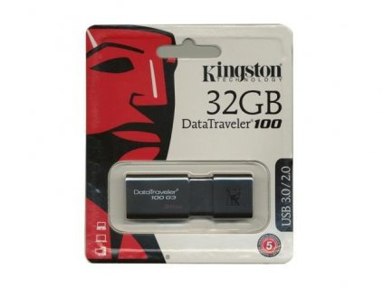 Kingston DataTraveler 100 G3 32GB BazarCom.cz
