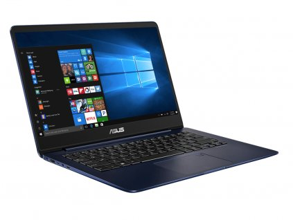 Elegantní ultrabook Asus ZenBook UX430UA, modrá BazarCom.cz