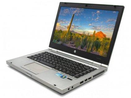 Spolehlivý notebook HP EliteBook 8460p, stříbrná BazarCom.cz