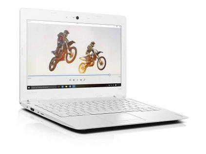 Malý a přenosný elegán notebook Lenovo ideapad 100S, bílá BazarCom.cz