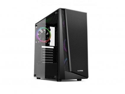 Herní PC Fighter, Intel Core i5-6400, 16GB RAM DDR4 2133MHz, 1TB HDD, 512GB SSD NVMe M.2, NVIDIA GeForce GTX 1060 6GB BazarCom.cz