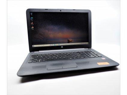 Notebook HP 15-ba077nc, AMD A8, 8GB RAM, AMD Radeon R5, 256GB SSD, Webkamera, Windows 10 BazarCom.cz