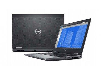 Dell Precision 7530, Intel Core i7-8850H, 32GB DDR4, NVIDIA P1000 4GB, 4K IPS BazarCom.cz
