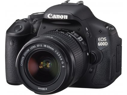 Canon EOS 600D + Canon 18-55mm 1:3.5-5.6 IS II