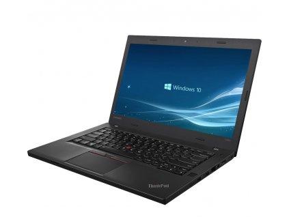 Elegantní notebook Lenovo ThinkPad T470, černá BazarCom.cz