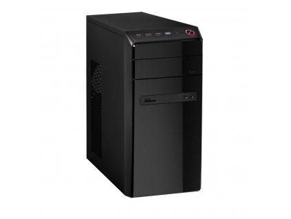 Herní PC, Intel Pentium G4400, 8GB RAM, 120GB SSD, 500GB HDD, Radeon RX550 4GB