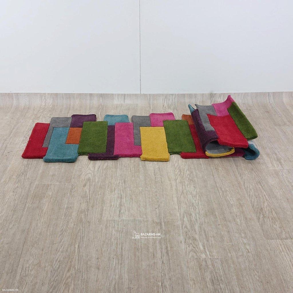 Barevný vlněný koberec Flair Rugs Collag
