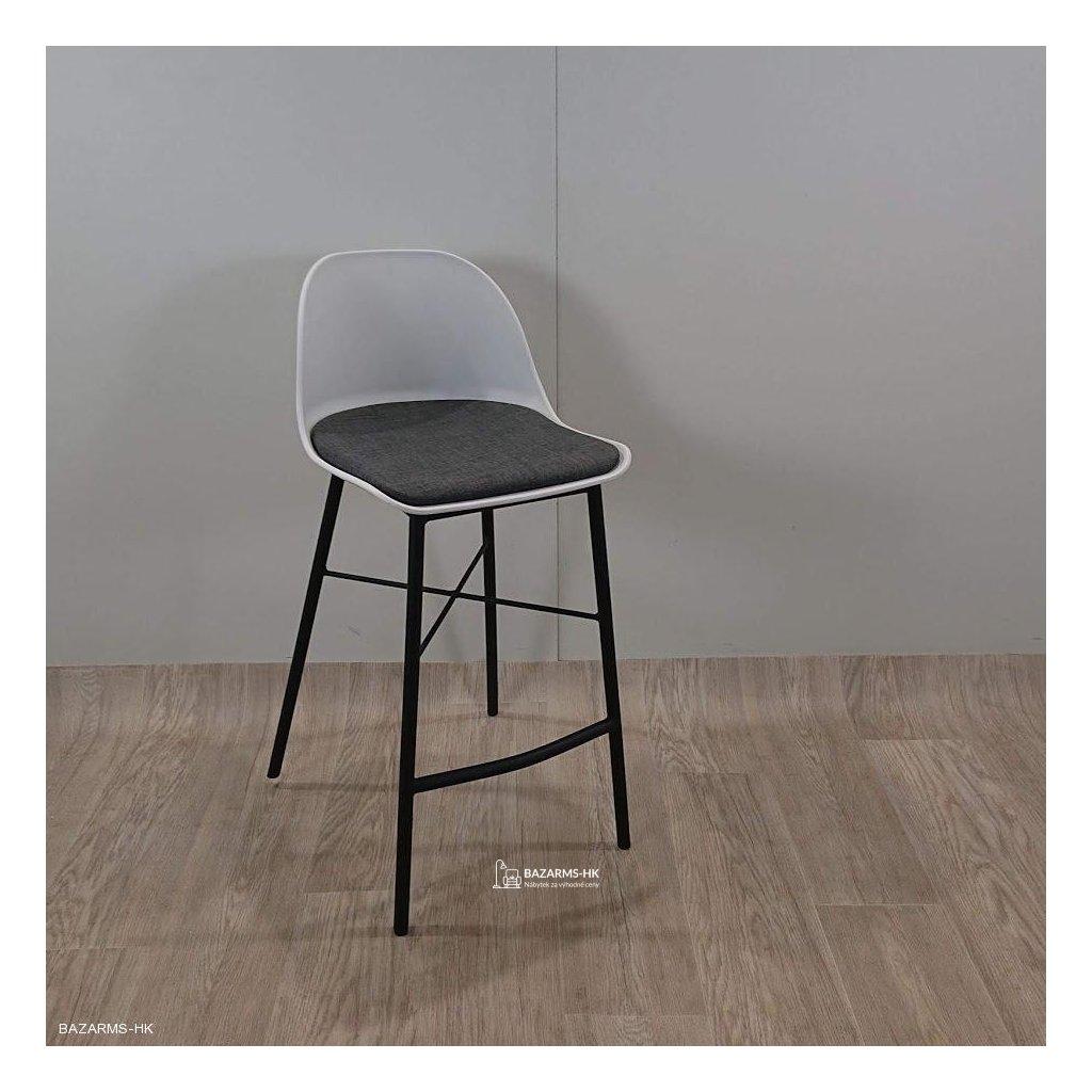 Bílá barová židle Unique Furniture Whist