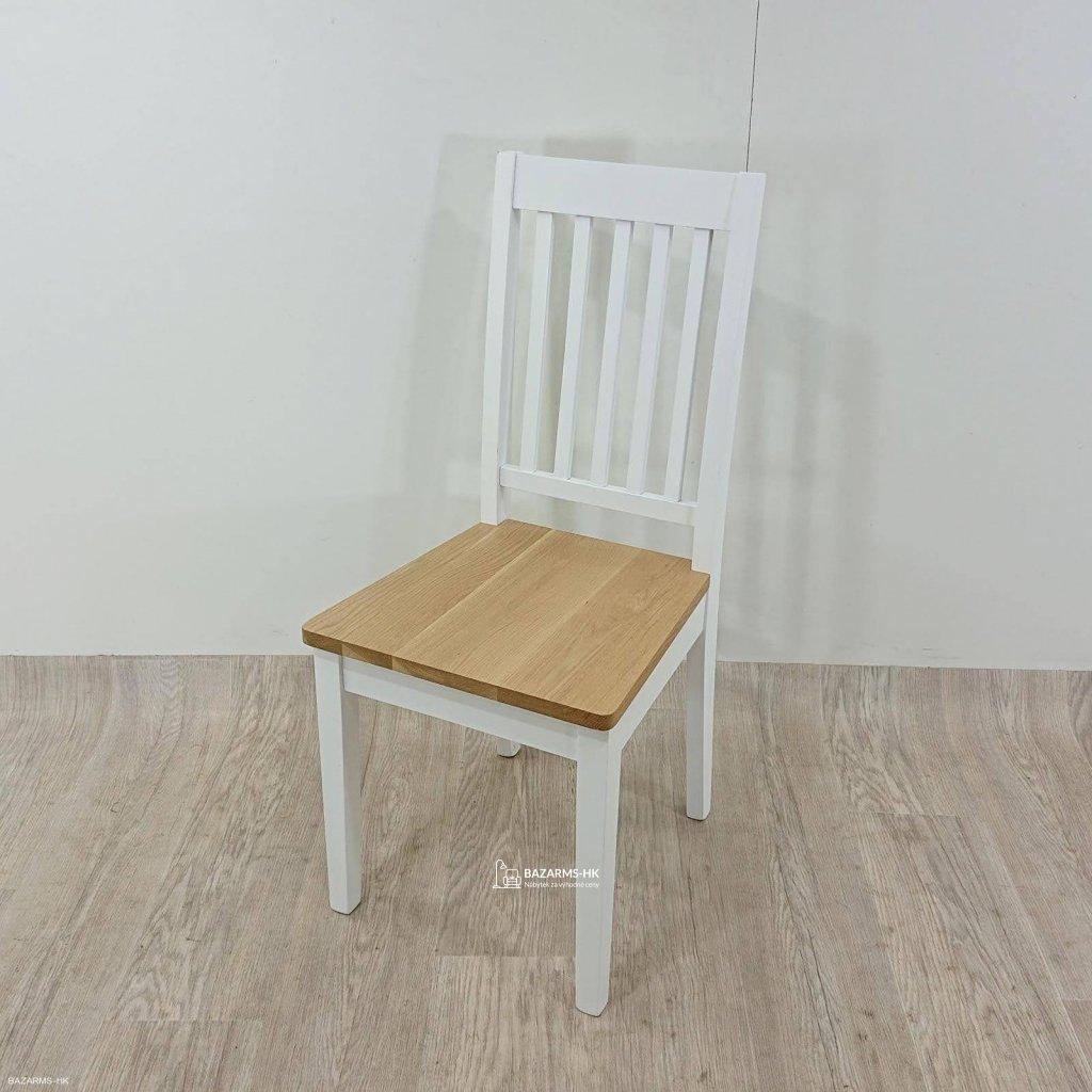 Bílá jídelní židle Rowico Ella