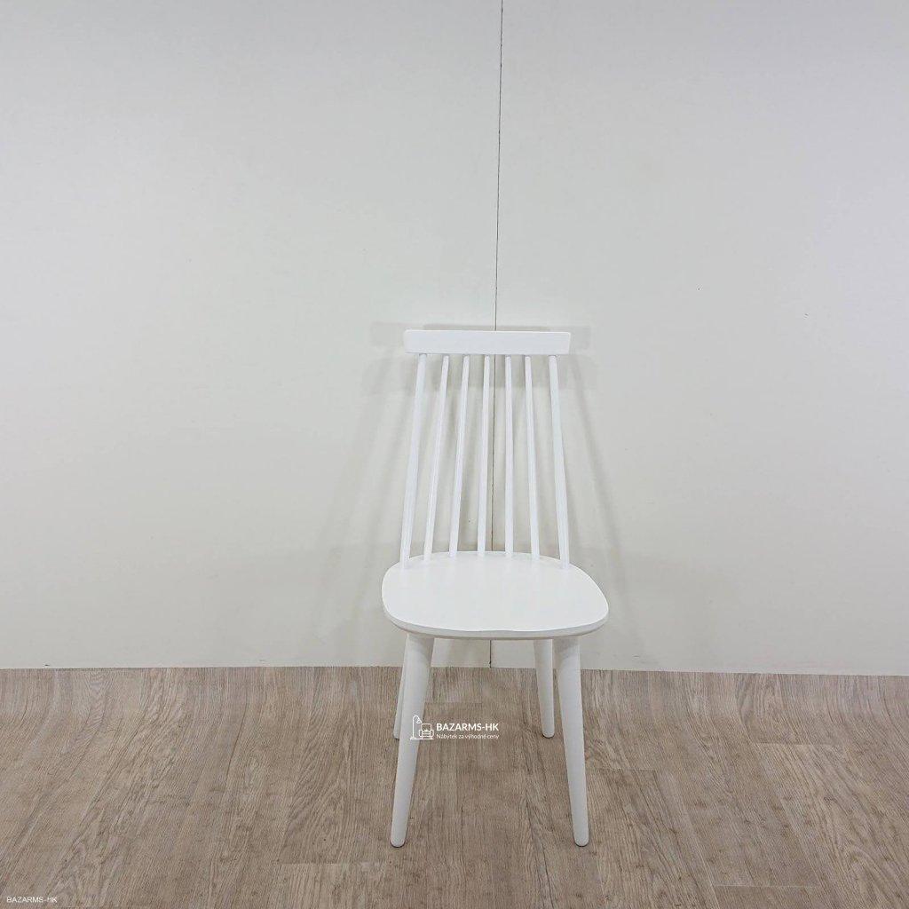 Bílá jídelní židle Rowico Lotta