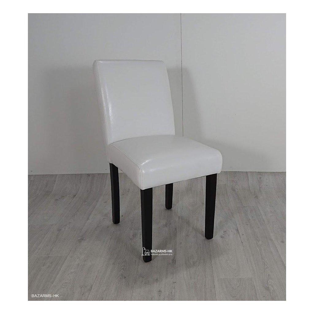 Bílá jídelní židle Whitney