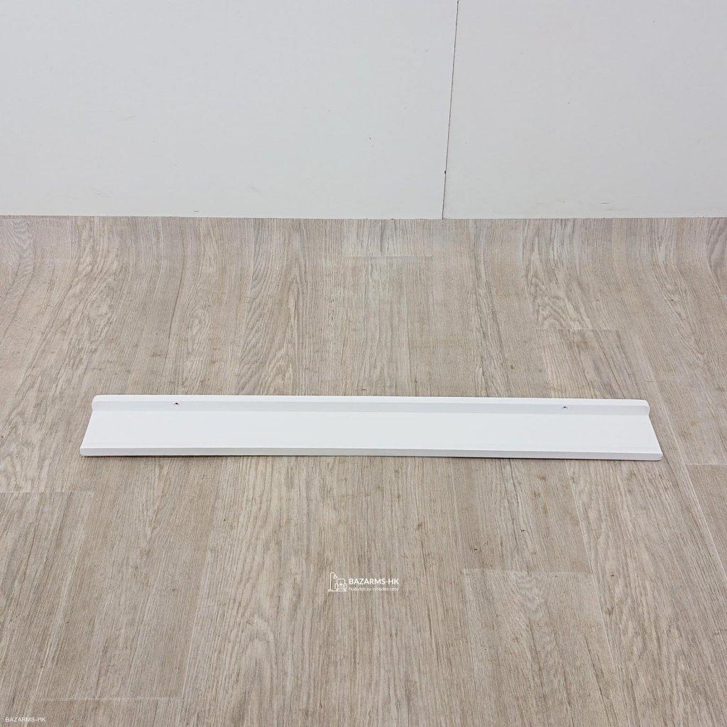 Bílá polička na obrázky Rowico Metro