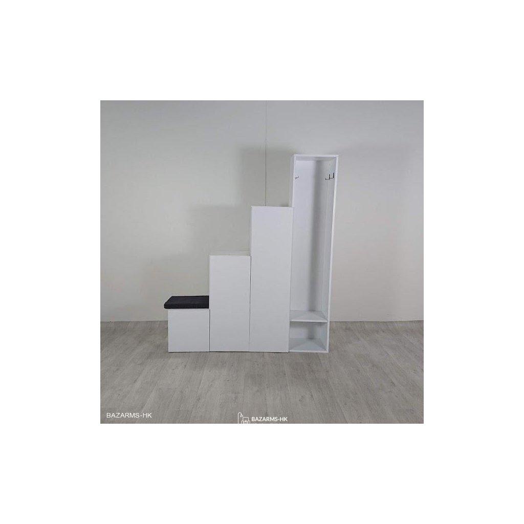 Bílá skříň Homitis Up