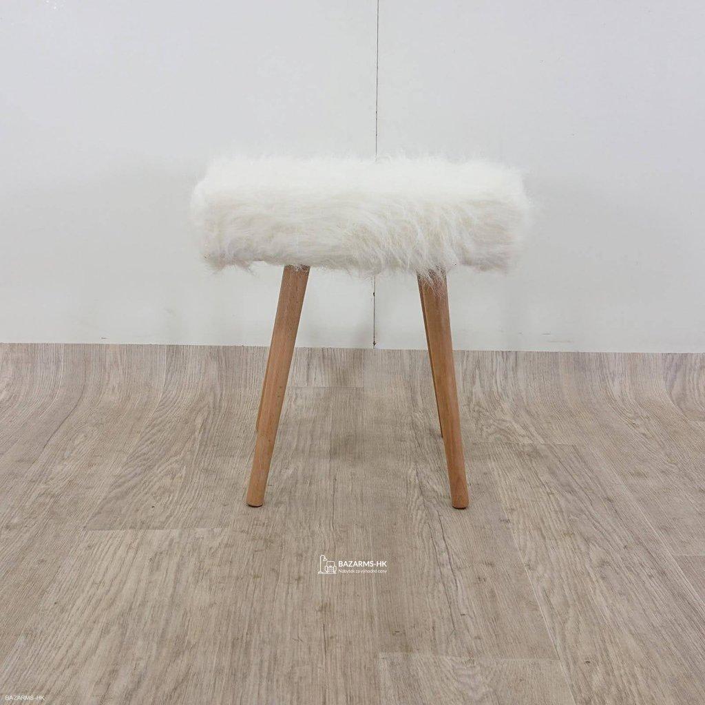 Bílá stolička Tomasucci Cloud