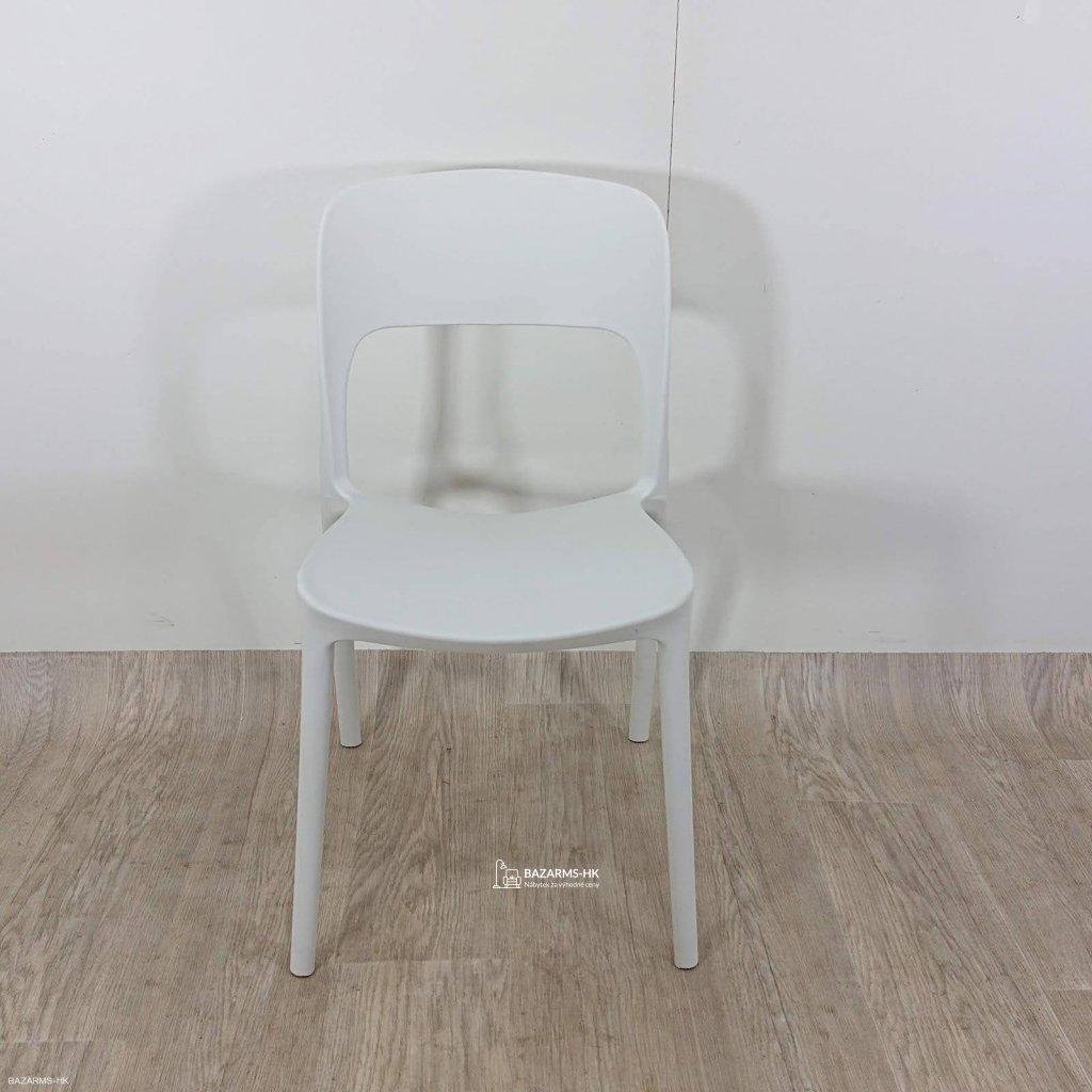 Bílá židle Ragaba UFO