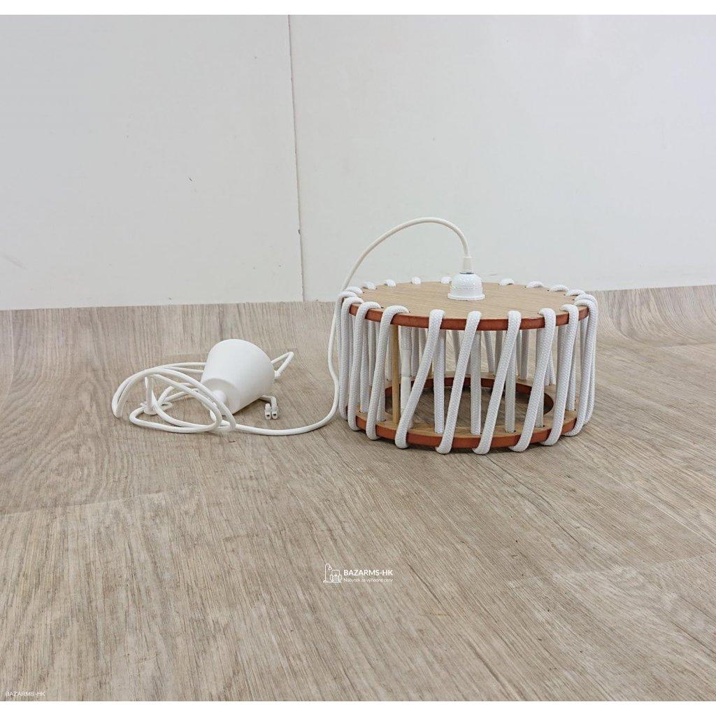 Bílé stropní svítidlo EMKO Macaron