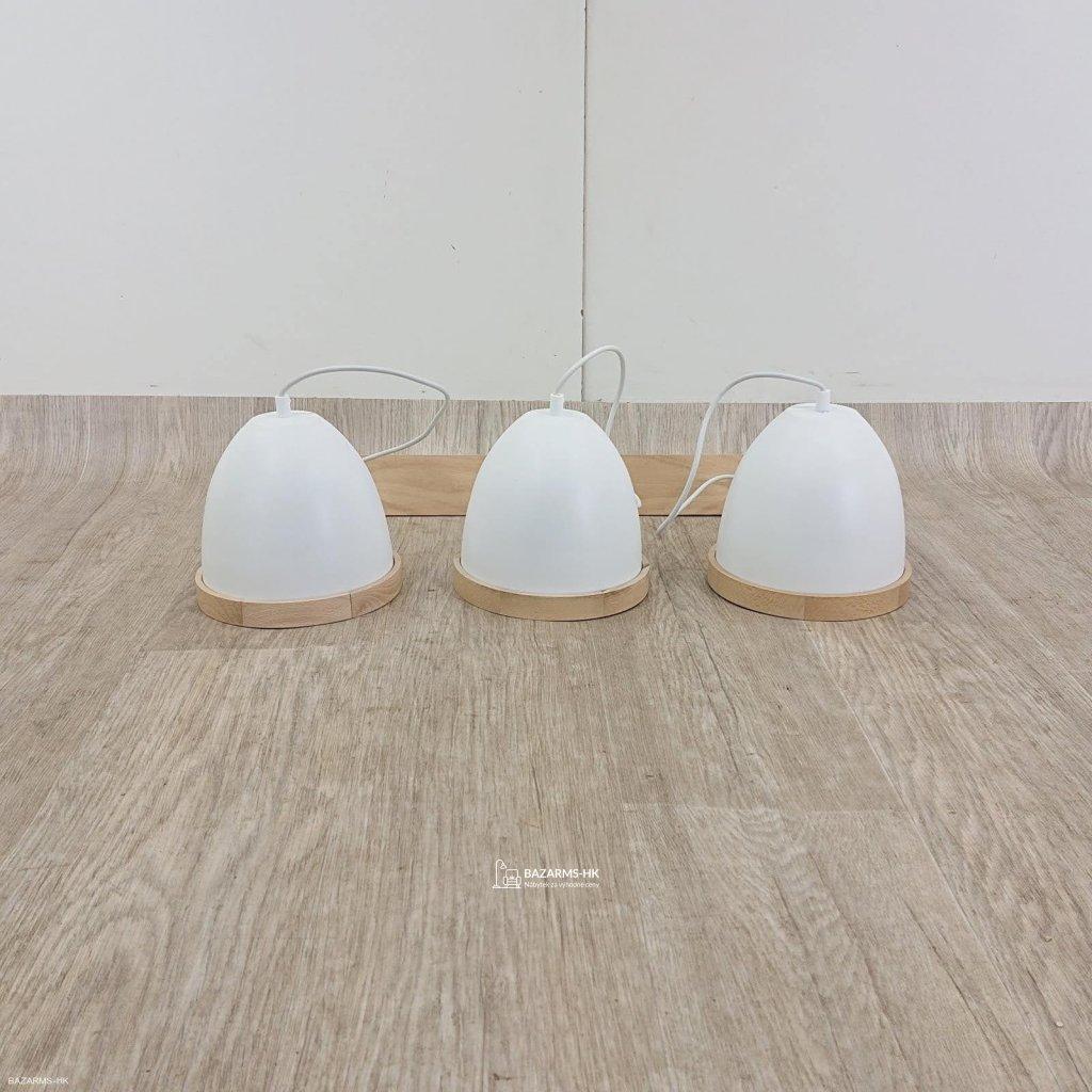 Bílé závěsné svítidlo Studio Tres