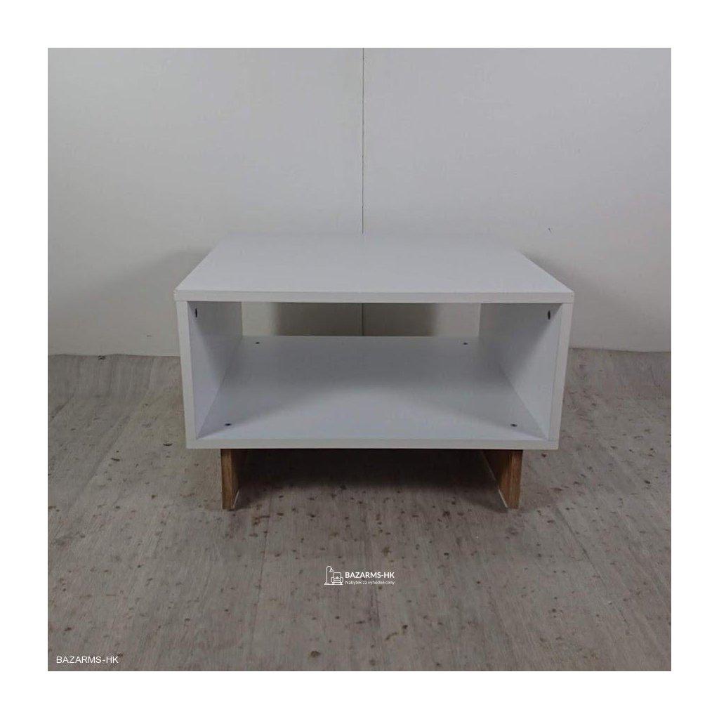Bílý konferenční stolek Arian
