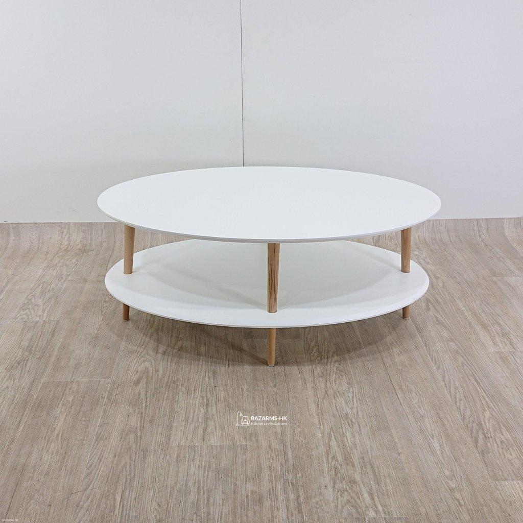 Bílý konferenční stolek Ragaba OVO