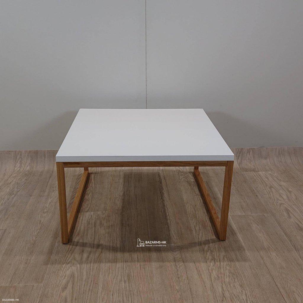 Bílý konferenční stolek Woodman Cubis