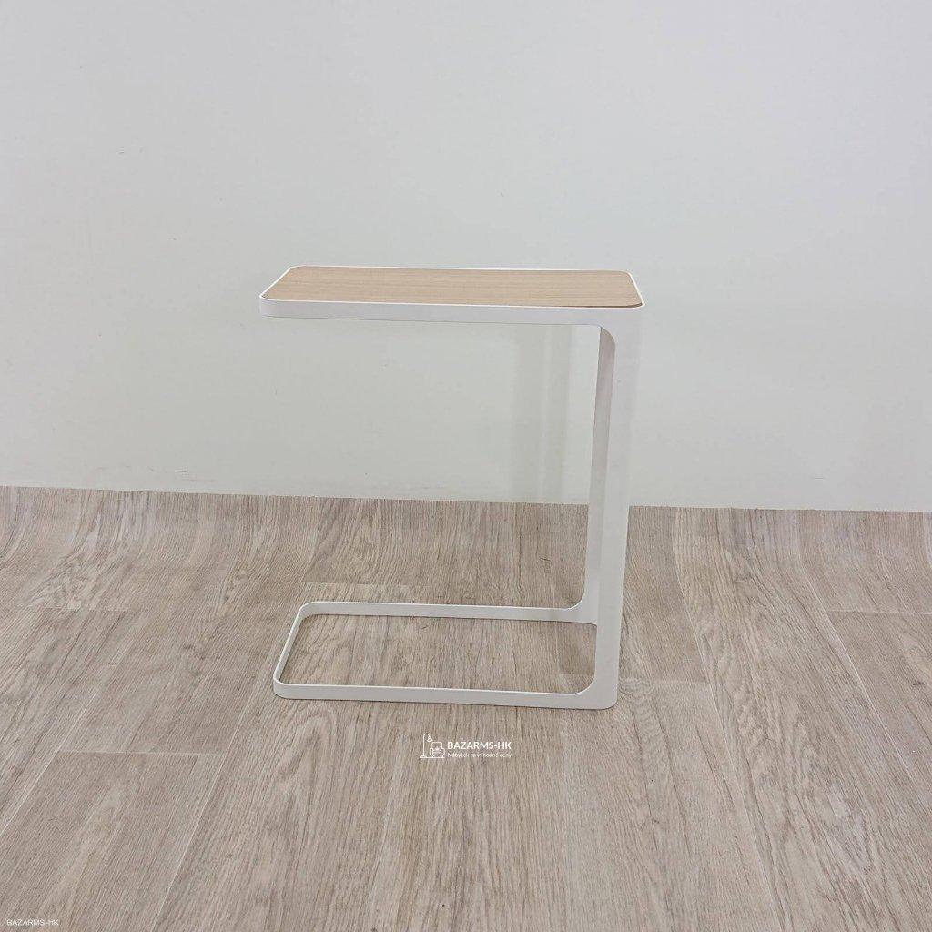 Bílý stolek YAMAZAKI Frame
