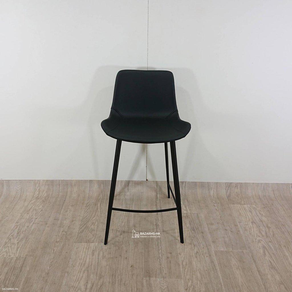 Černá barová židle DAN–FORM Denmark Hype