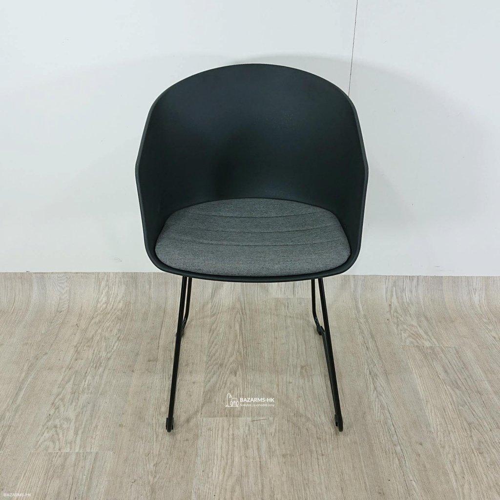 Černá jídelní židle Interstil Moon 20