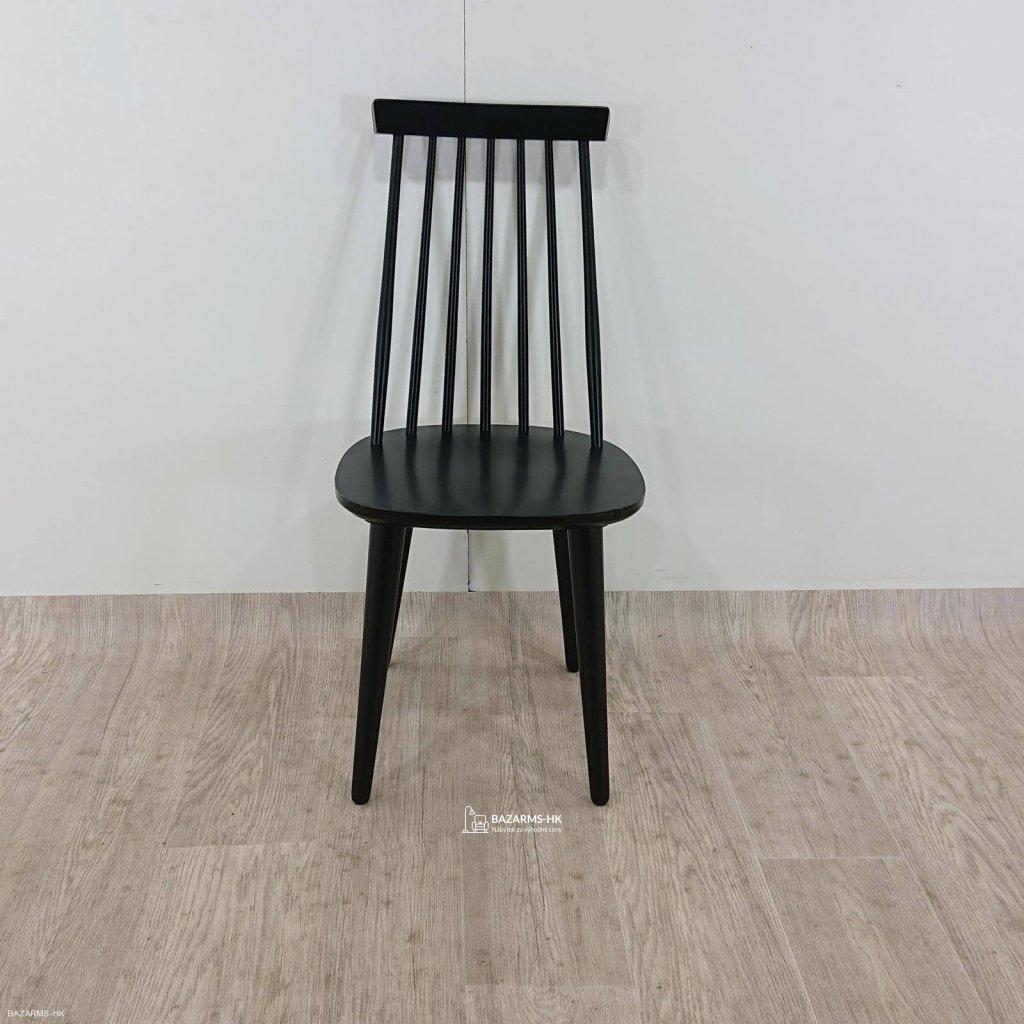 Černá jídelní židle Rowico Lotta