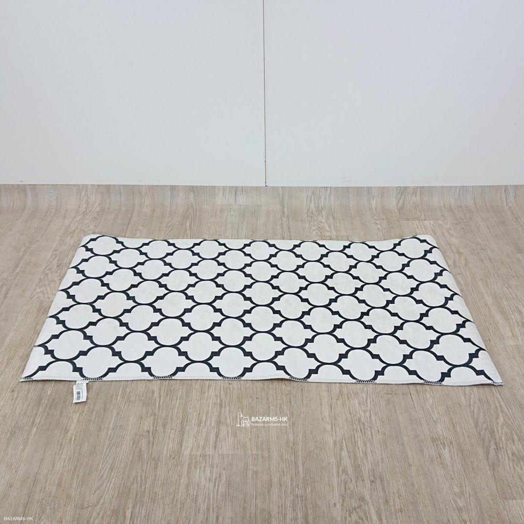 Černobílý koberec Vitaus Jessica