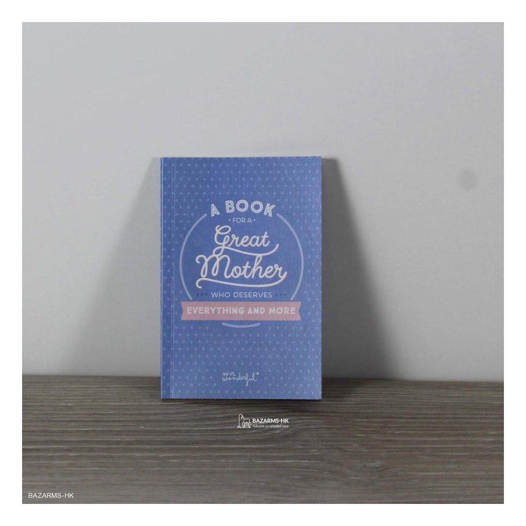 Dárková kniha Mr. Wonderful Great Mother