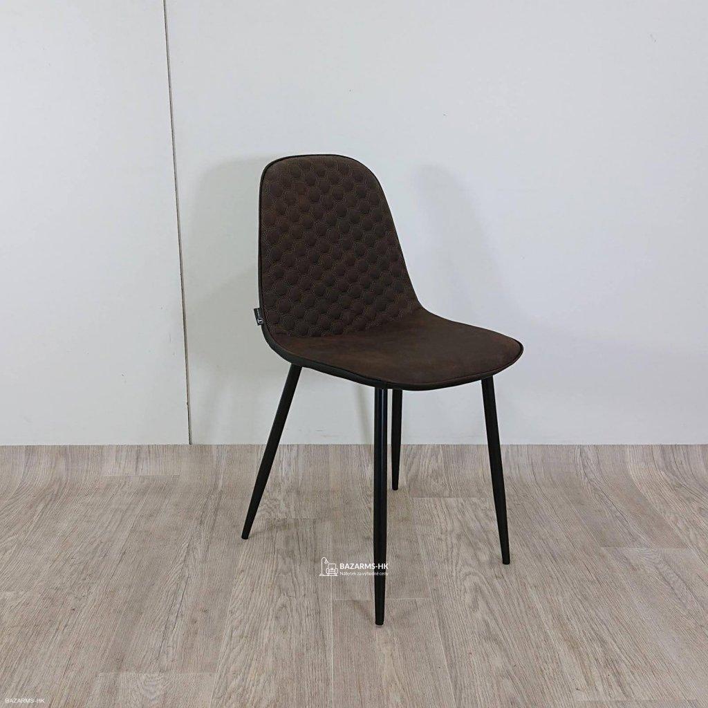 Hnědá jídelní židle Tomasucci Fluffy