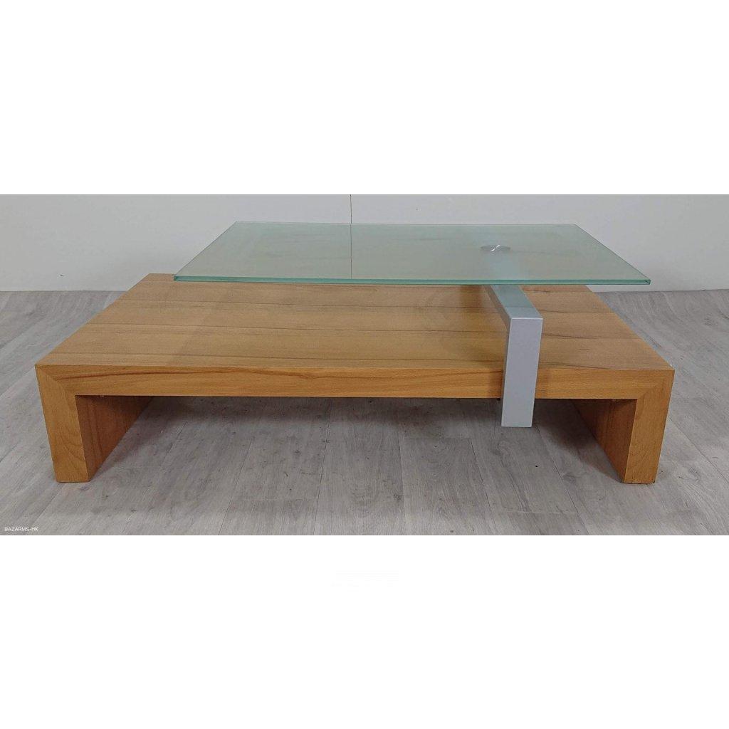 Konferenční stolek s otočnou, posuvnou s