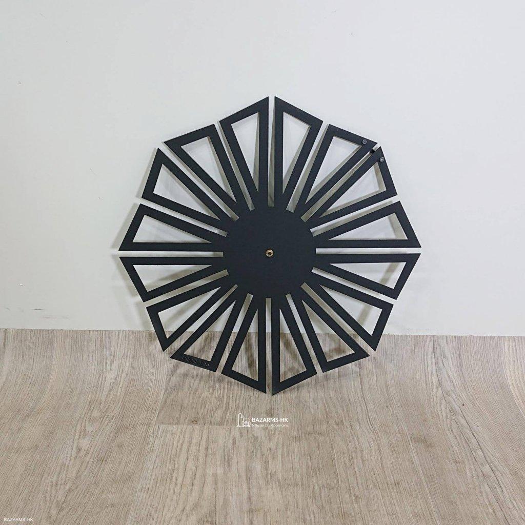 Kovové hodiny Dandelion
