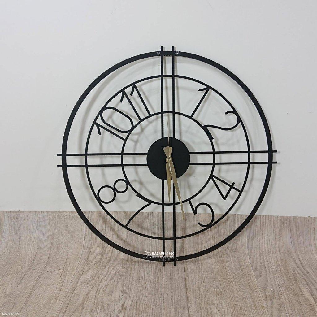 Kovové hodiny Hefaistos