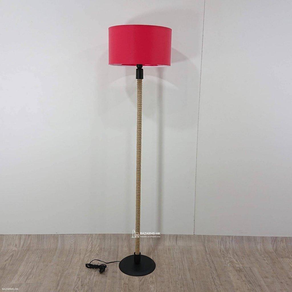 Lampa s červeným stínítkem lampa Kate Lo