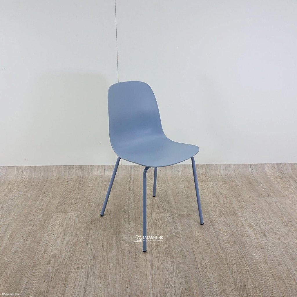 Modrá jídelní židle Unique Furniture Whi