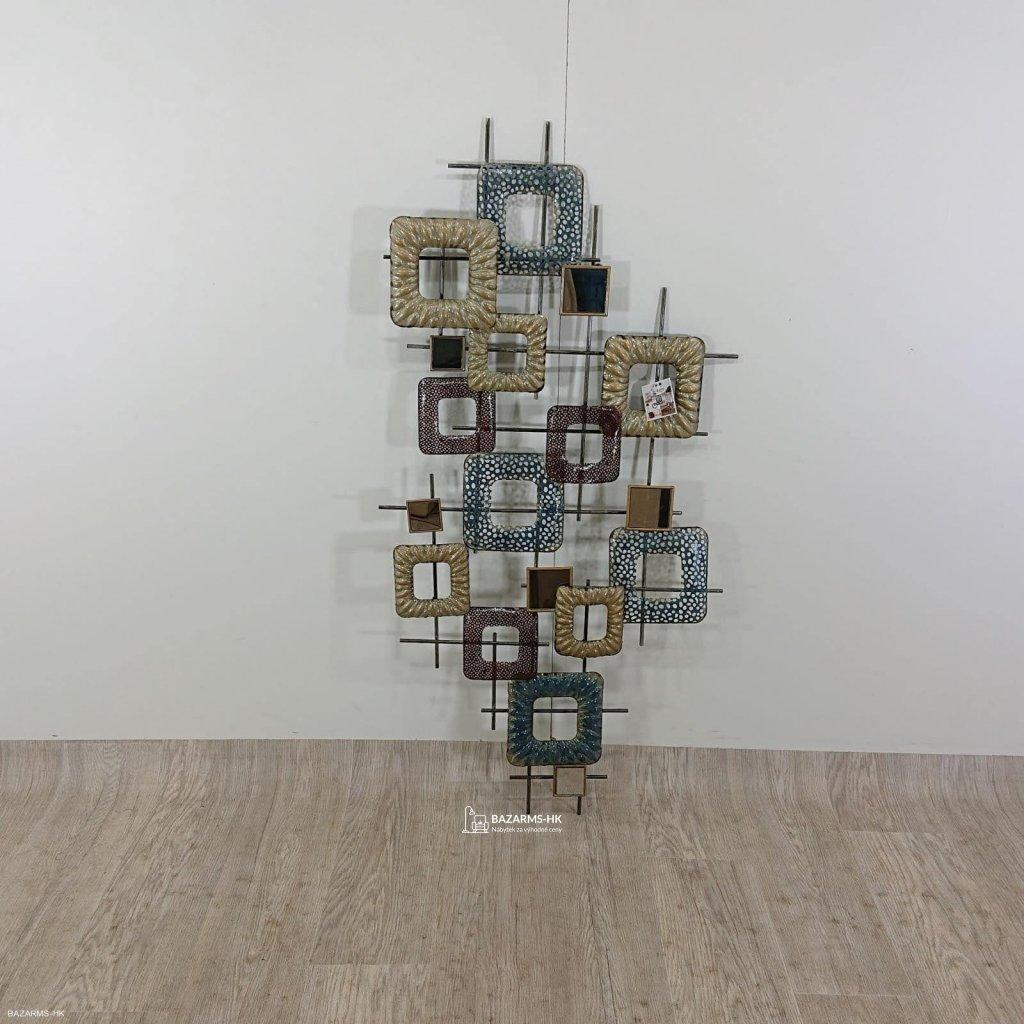 Nástěnná kovová dekorace Mauro Ferretti