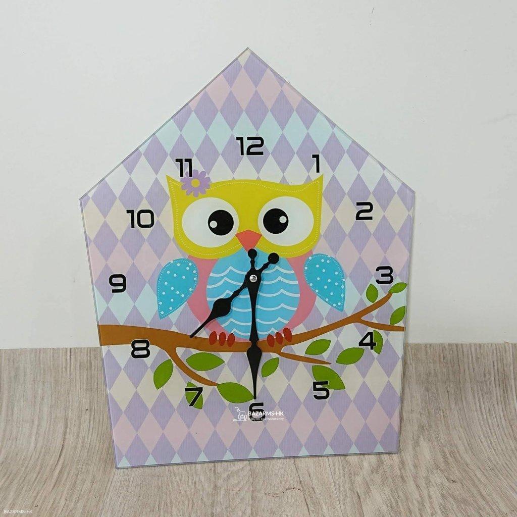 Nástěnné hodiny Mauro Ferretti Owly