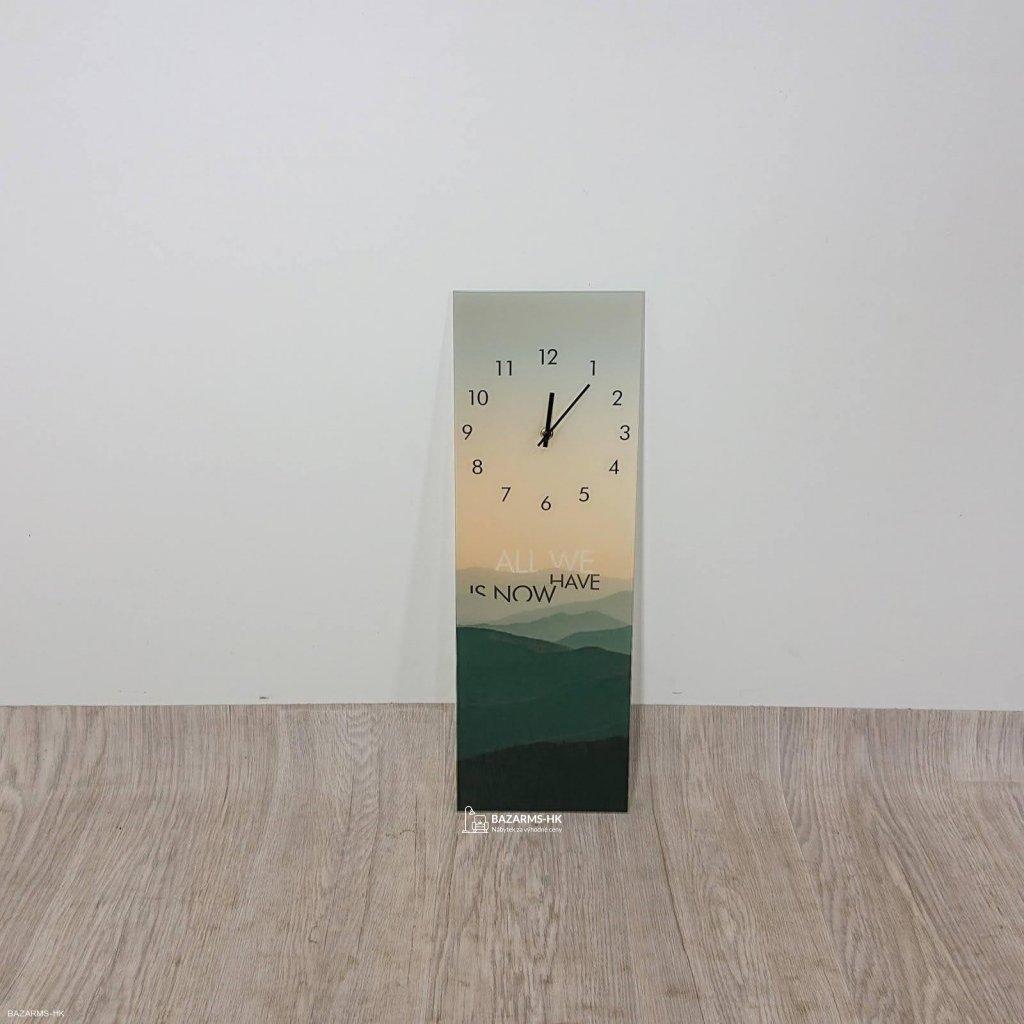 Nástěnné hodiny Styler Glassclock Mounta